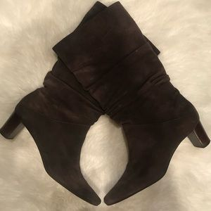 Talbots, Brown Suede/Leather Boots
